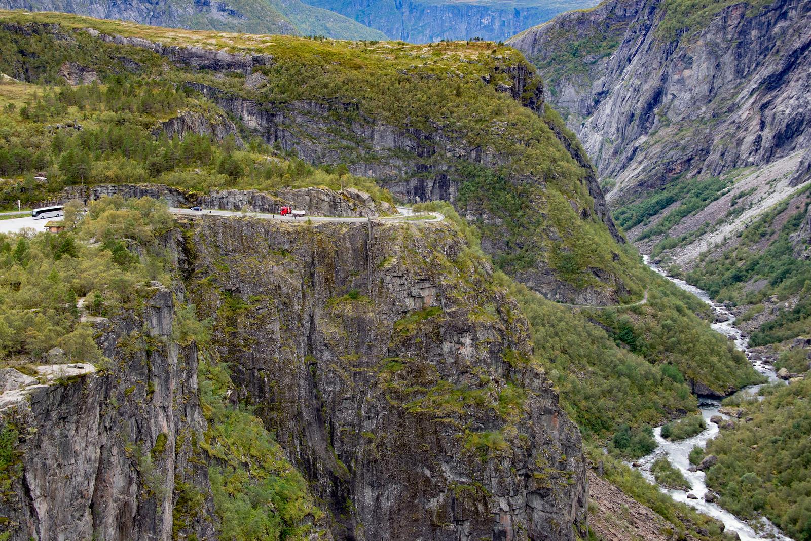 Voeringfoss Waterfall