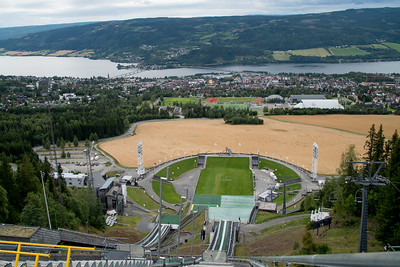Lillehammer ski area, Norway