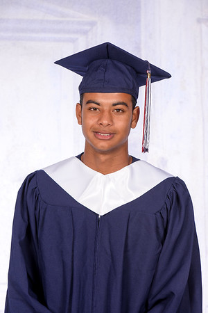 Cap and Gown - Jalen