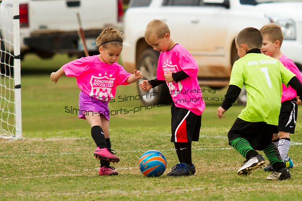 KINGFISHER SOCCER CLUB - LITTLE ONES - APRIL 15 2017