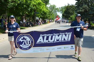 Burlington teen tour band alumni