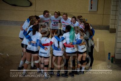 09-26-17 Albert Lea Tigers Volleyball
