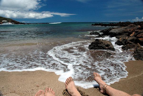 Molokai Beach Feet