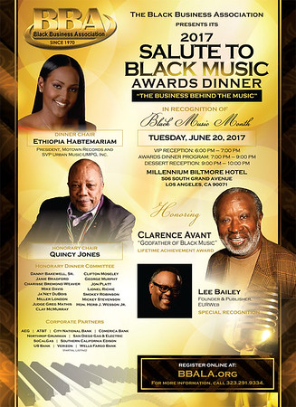 2017 Salute To Black Music Awards Dinner