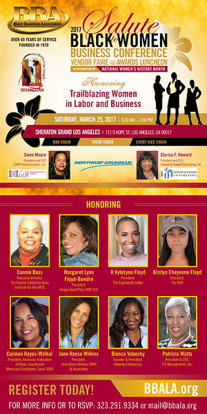 2017 Salute to Black Women Business Conference