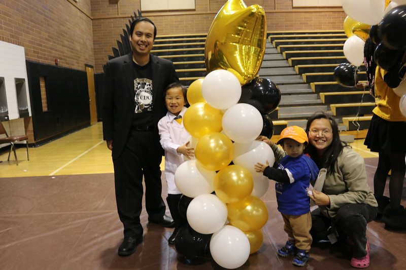 The Chung family.  They have a precocious SSA II student right there!