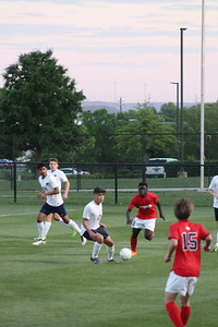 Huntsville Soccer Playoffs vs. Bob Jones. credit: Sonya Craft