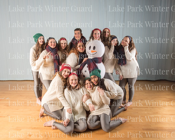 Winter Guard Portraits