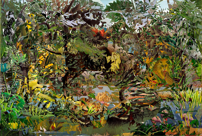 Jungle Landscape after Rousseau
