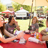 The annual Senior Send-Off values graduating seniors with booths, prizes, pictures, and games on Saturday April 29, 2017, in Chico, Calif. <br /> (Jessica Bartlett/ Photographer)
