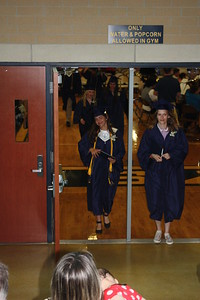 photo by Liz Gray  2017 Shepherd High School graduation