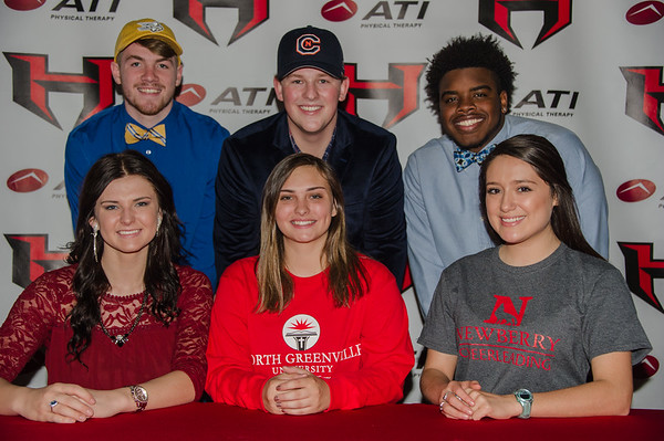 2017 Signing Day Hillcrest