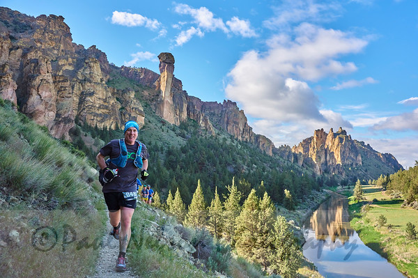 2017 Smith Rock Ascent 50K, 15M