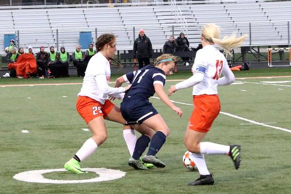 Prairie vs. Xavier Girls' Soccer  4/20/17