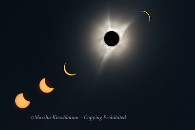 2017 Solar Eclipse - Totality in Terrebonne, Oregon