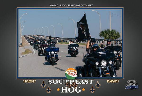 Southeast HOG Rally Nov 4 Pensacola Beach Bridge
