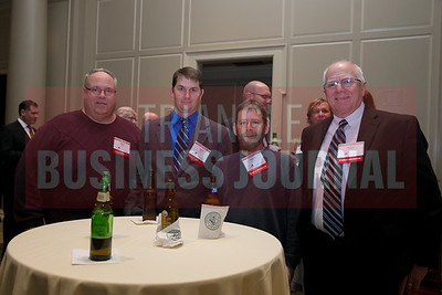 left-right Dave Dugas, John Smith, Kevin Ruff, Barry Harden - Barnhill Contracting