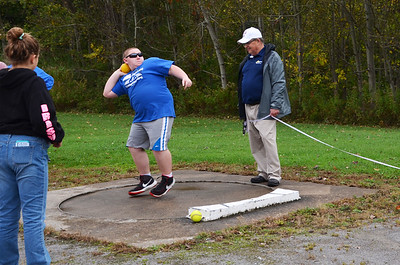 Photo Courtesy Sapna Kollali - Madison-Oneida BOCES Student athletes participate in the seventh annual Special Olympics at Canastota High School on Wednesday, Oct. 11, 2017.