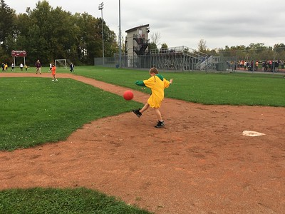 Charles Pritchard - Oneida Daily Dispatch Student athletes participate in the seventh annual Special Olympics at Canastota High School on Wednesday, Oct. 11, 2017.