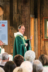 Guests enjoyed the annual Sunset at the Barn on August 19 at the Winnie Palmer Nature Reserve Barn at Saint Vincent, to benefit the Saint Benedict Education Foundation, which provides scholarships for monks and nuns studying at Sant' Anselmo, the international Benedictine College in Rome. The event includes a silent auction, live entertainment and hors d'oeuvres.