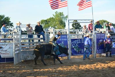 Linda Kerkau - Morning Sun  The 2017 Super Kicker Rodeo at the Isabella County Fair.