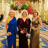 Mistletoe Ball on Nov. 25. Dacey with sisters Tanya and Elaine