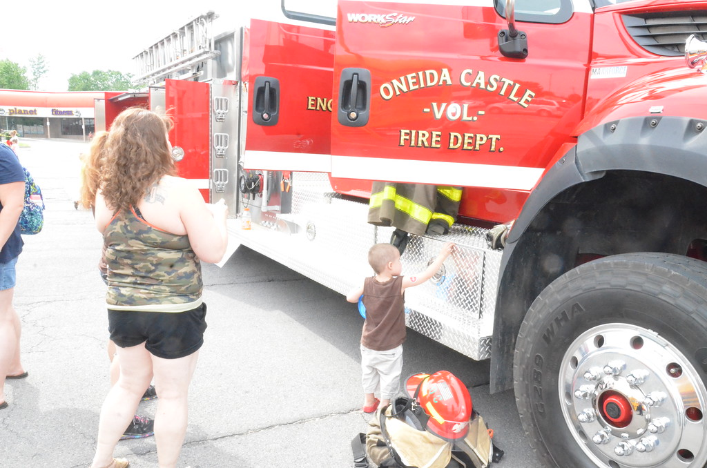 . Leah McDonald Families flocked to Glenwood Plaza on Monday, July 10, 2017, for the third annual Touch a Truck event.