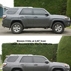 2017 4Runner: comparison between OEM suspension and tires and Bilstein 5100 suspension and Cooper Discoverer T3 tires<br /> <br /> Also shows 20% front window tint