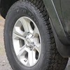 2017 4Runner: Cooper Discoverer AT3 tires in OEM size<br /> <br /> Later replaced with up-sized Firestone Destination AT tires.