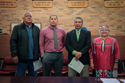 2017 Tribal Council Swearing-In Ceremony