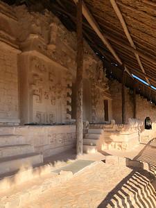 The King's Tomb at Ek Balam