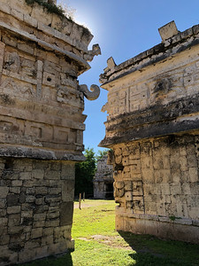 Two Faces of the Mayan Rain God