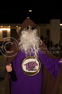 Kansas State students and faculty participated in the costume contest hosted by Union Program Council at the Union in Manhattan Kan, on Oct 31, 2017 (Alex Shaw | Collegian Media Group)