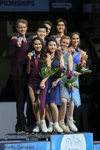 Ice Dance Podium