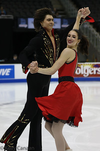 Alex Benoit and Elliana Pogrebinsky