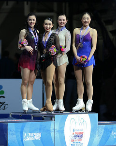 Ladies' Podium 2017