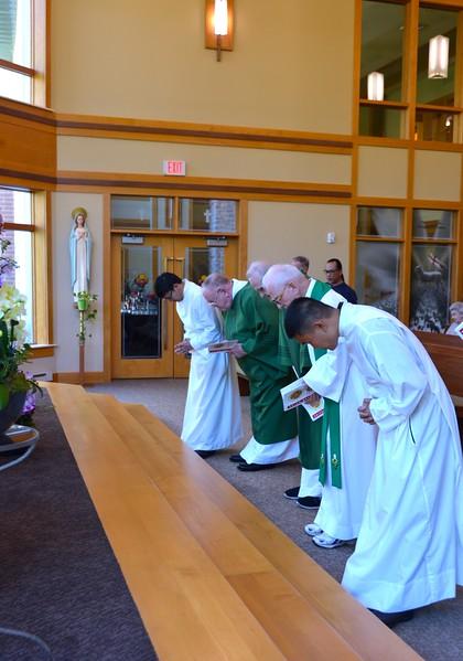 Opening of Mass