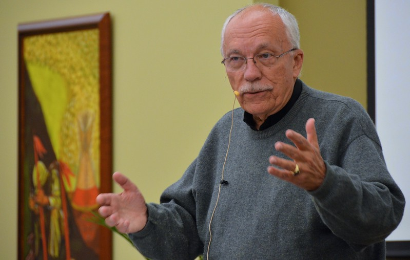 Fr. Tom Knoebel, interim president-rector of SHSST