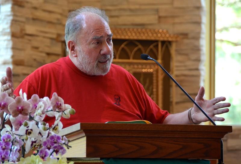 """Fr. Tony does an """"interpretative"""" first reading"""