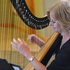 The evening reception was accompanied by beautiful harp music