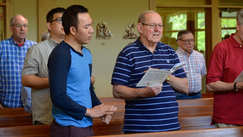 Fr. Vien and Br. Peter