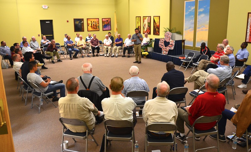 """SCJs gathered for an """"Hour of Affirmation"""" to share with each other what they are thankful for."""