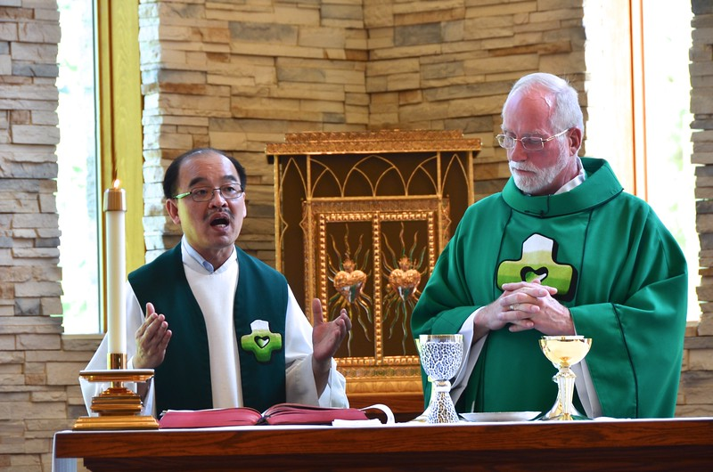 Fr. Quang and Fr. Ed