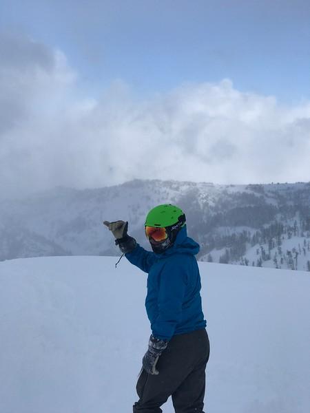 Ryan at Powder Mountain!