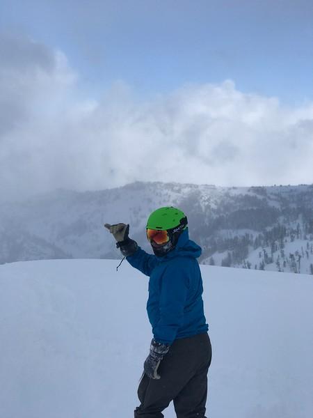 Ryan at Powder Mountain!