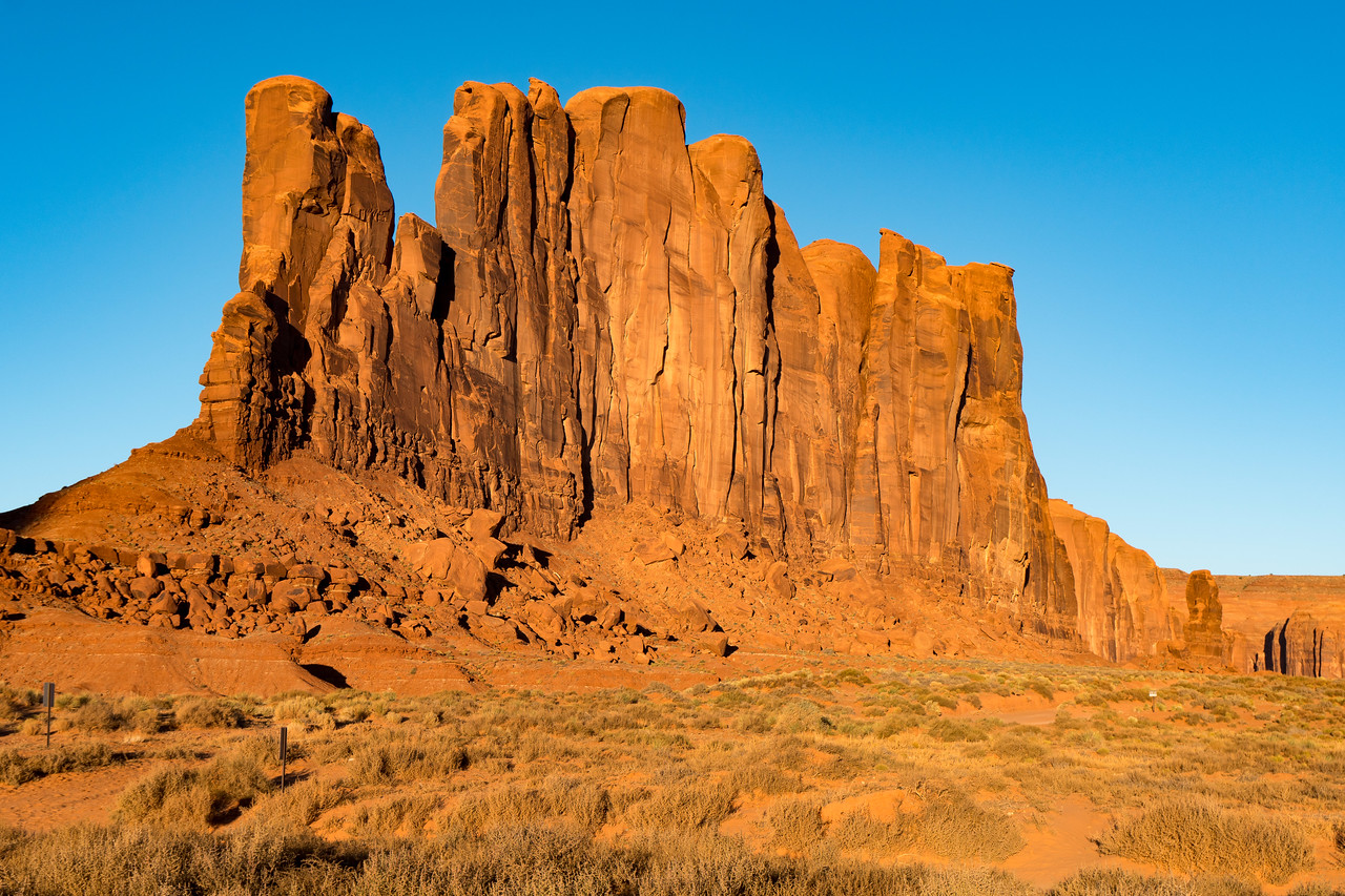 Monument Valley, AZ - Elephant Butte