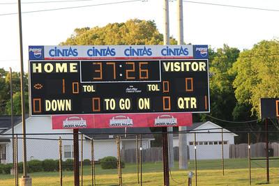 Huntsville Playoffs vs. Bob Jones. Credit: Sayuri Beltran