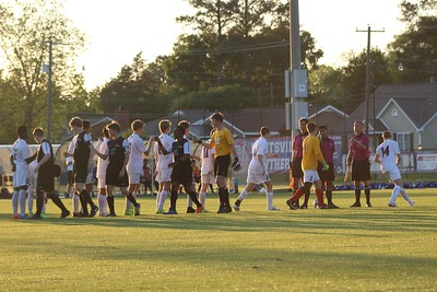 Huntsville Soccer vs. Florence. Credit: Sonya Craft