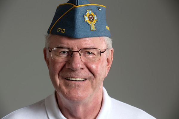 Holy Name Medical Center Volunteer Rich Jahn<br /> <br /> U.S. Army 1965-1968<br /> Station: Germany<br /> Position: Radar Engineer<br /> <br /> Photo by Jeff Rhode / Holy Name Medical Center