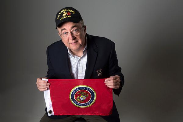 Holy Name Medical Center IT Programmer Dan Mawson<br /> U.S. Marine <br /> Station: Korea, North Carolina<br /> Position: Squad Leader, Engineer Platoon<br /> <br /> Photo by Jeff Rhode / Holy Name Medical Center